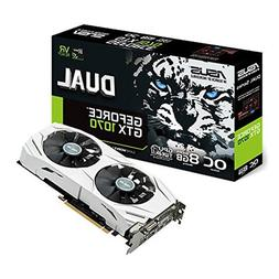 ASUS Dual GEFORCE GTX 1070 8GB OC Computer Graphics Card - P