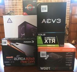 NZXT CASE W/ Graphics Card, MB, Power Supply & Processor $10