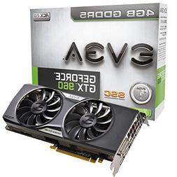 EVGA GeForce GTX 960 4GB SSC ACX 2.0+ Graphics Card 04G-P4-3