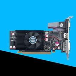 ETbotu Geforce Chipset Video Graphics Card GT610 1GB DDR2 fo