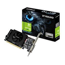 Gigabyte GeForce GT 710 2GB Graphic Cards and Support PCI Ex