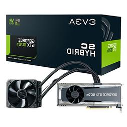 EVGA GeForce GTX 1070 Ti SC HYBRID GAMING, 8GB GDDR5, LED, A