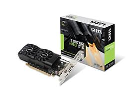 GTX 1050 TI PCIEX16 4GB GDDR5 DP HDMI DVI-D LOW PROFILE