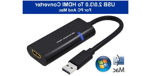 USB External Video Graphic Card With HDMI Output For Desktop