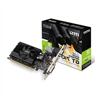 GeForce 2GB DirectX 12 PCIe 2.0 Low Profile Graphic Card