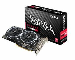 New MSI VGA Graphic Cards RX 580 ARMOR 8G OC Video Card