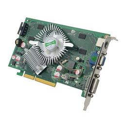 Nvidia Geforce 7600GS 512MB AGP Video Card  for Red Lindberg