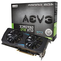 EVGA GeForce GTX 970 4GB FTW GAMING ACX 2.0, 26% Cooler and