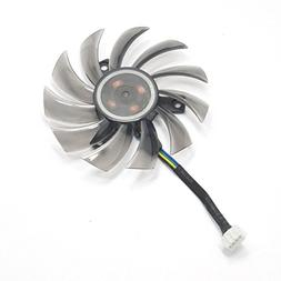 inRobert 75mm T128010SU Graphic Card Fan Replacement Cooler